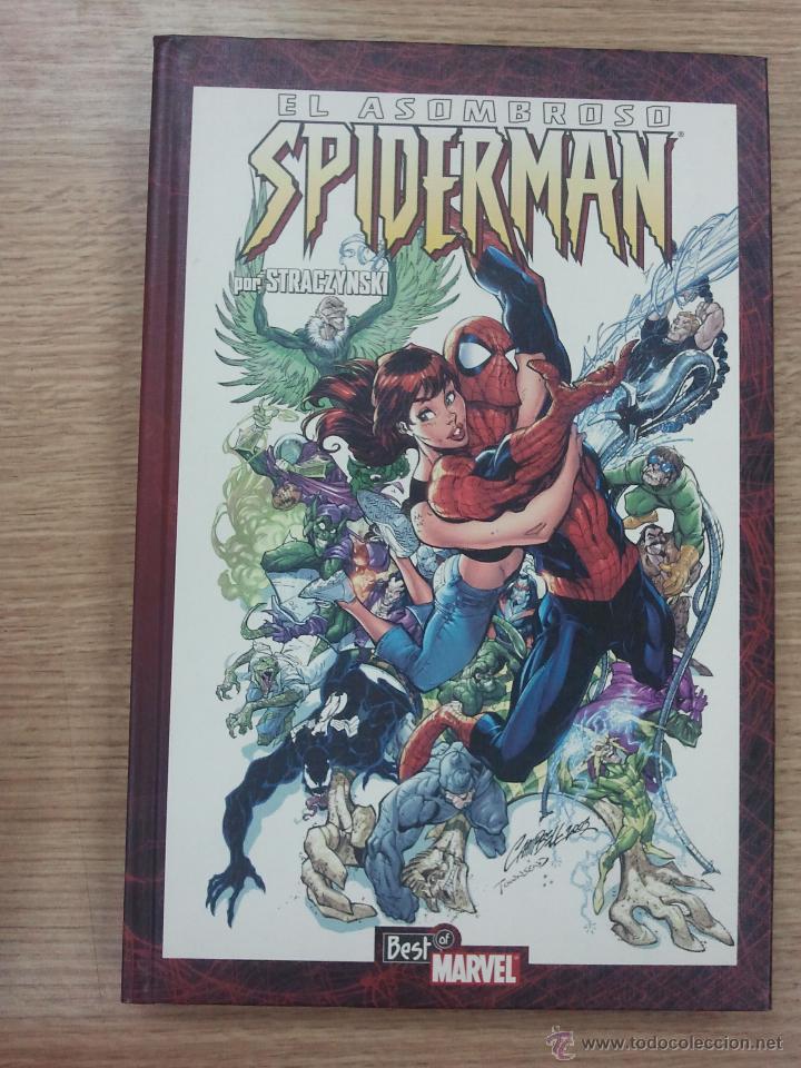 ASOMBROSO SPIDERMAN POR STRACZYNSKI #4 (BEST OF MARVEL) (Tebeos y Comics - Panini - Marvel Comic)
