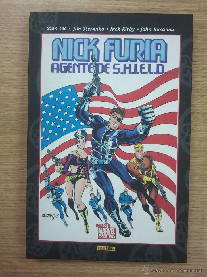 NICK FURIA AGENTE DE SHIELD (BEST OF MARVEL ESSENTIALS) (Tebeos y Comics - Panini - Marvel Comic)