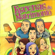 Cómics: ESCENAS DE MATRIMONIO EL COMIC - TAPA DURA. Lote 43020219