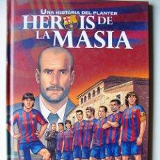 Fumetti: HEROIS DE LA MASIA - EN CATALAN - FCBARCELONA. Lote 43186383