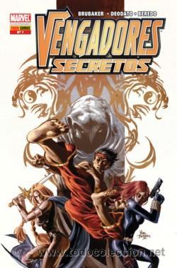 VENGADORES SECRETOS Nº 7 DE BRUBAKER & DEODATP & BEREDO PANINI COMICS (Tebeos y Comics - Panini - Marvel Comic)