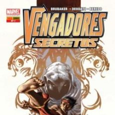 Cómics: VENGADORES SECRETOS Nº 7 DE BRUBAKER & DEODATP & BEREDO PANINI COMICS. Lote 43659038