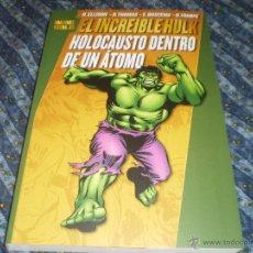 Cómics: EL INCREÍBLE HULK HOLOCAUSTO DENTRO DE UN ÁTOMO MARVEL GOLD ROY THOMAS JOE STATON PANINI 2010. Lote 43807272