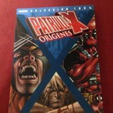 Comics: PANINI COMICS -COLECCION 100 % MARVEL- PATRULLA X- EN MUY BUEN ESTADO COMO NUEVO. Lote 44230730