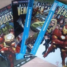 Cómics: COMICS VENGADORES:LA INICIATIVA.4 PRIMEROS NÚMEROS. Lote 44324956