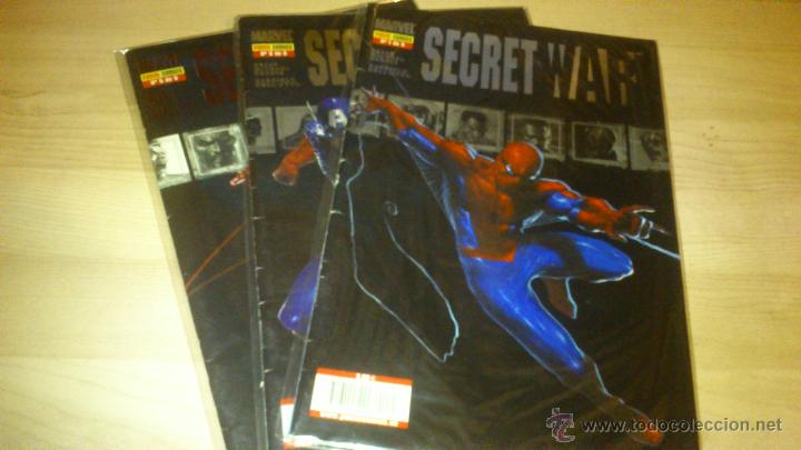 COMIC SECRET WAR COLECCIÓN COMPLETA 5 NÚMEROS (Tebeos y Comics - Panini - Marvel Comic)