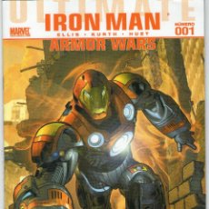 Cómics: ULTIMATE COMICS IRON MAN - Nº 1 - MARVEL - PANINI COMICS - AÑO 2010.. Lote 44694689