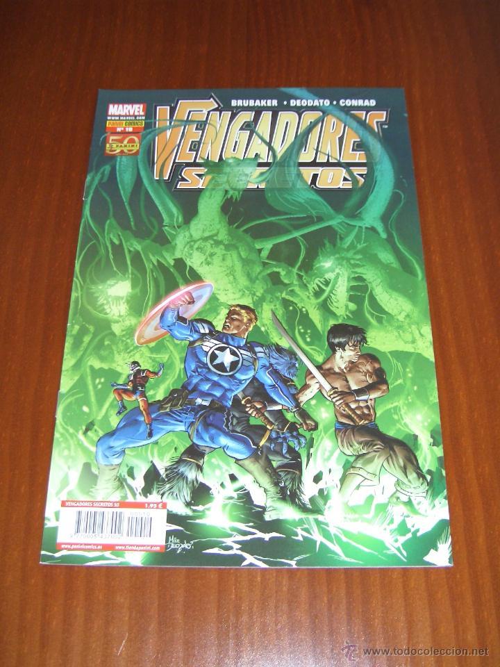 VENGADORES SECRETOS Nº 10 - BRUBAKER - DEODATO - PANINI (Tebeos y Comics - Panini - Marvel Comic)
