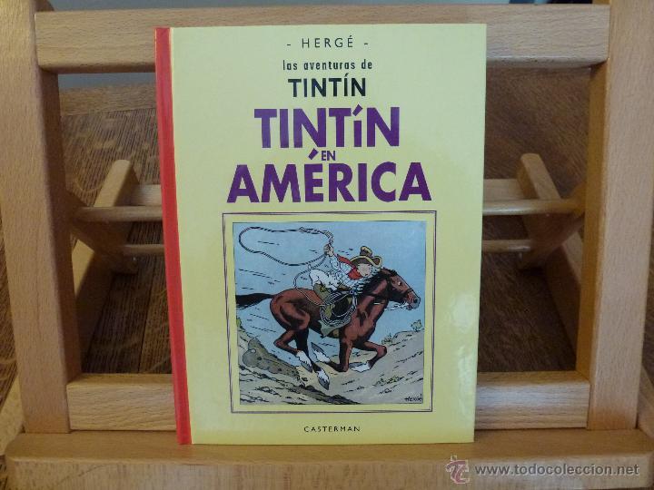 TINTIN EN AMERICA - FACSIMIL- BLANCO Y NEGRO - VERSIÓN ORIGINAL - CASTERMAN PANINI 2003 (Tebeos y Comics - Panini - Otros)