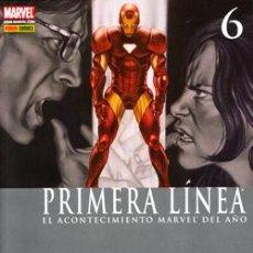 Cómics: CIVIL WAR : PRIMERA LÍNEA Nº 6 DE JENKINS & LUCAS & BACHS & BENDIS & MALEEV & VILLARUBIA. Lote 44864984