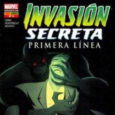 Cómics: INVASIÓN SECRETA : PRIMERA LÍNEA Nº 3 DE REED & CASTIELLO & CIARDO. Lote 44929211