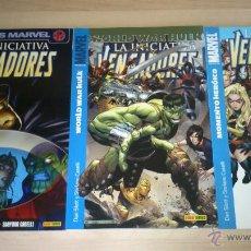 Cómics: COMICS VENGADORES:LA INICIATIVA.3 PRIMEROS NÚMEROS. Lote 44931451