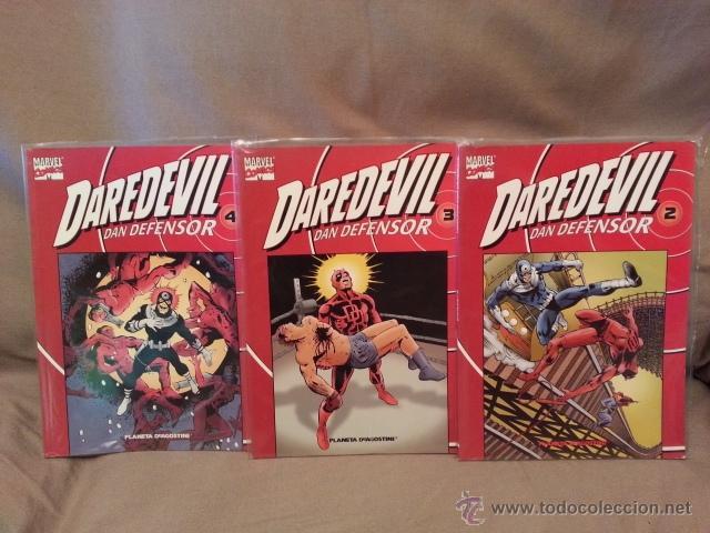 COMICS MARVEL -DAREDEVIL COLECCIONABLE ROJO 3 VOLS - FRANK MILLER (Tebeos y Comics - Panini - Marvel Comic)