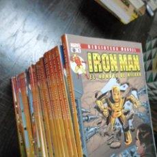 Fumetti: IRON MAN. EL HOMBRE DE HIERRO, BIBLIOTECA MARVEL, PANINI COMICS (1-28). Lote 45142194