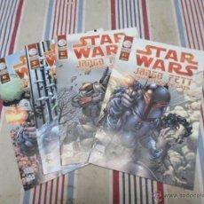 Comics : STAR WARS, JANGO FETT, TEMPORADA DE CAZA (1.2.3.Y 4), PLANETA AGOSTINI. Lote 45175741