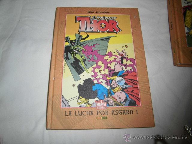 THOR LA LUCHA POR ASGARD I Y II 2 TOMOS WALT SIMONSON .PANINI COMICS (Tebeos y Comics - Panini - Marvel Comic)