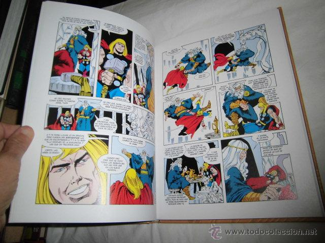 Cómics: THOR LA LUCHA POR ASGARD I Y II 2 TOMOS WALT SIMONSON .PANINI COMICS - Foto 4 - 45242339