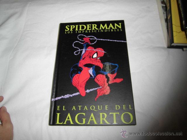 SPIDERMAN LOS IMPRESCINDIBLES Nº 2.EL ATAQUE DEL LAGARTO CON EL LIBRETO TAPA DURA (Tebeos y Comics - Panini - Marvel Comic)