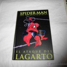 Cómics: SPIDERMAN LOS IMPRESCINDIBLES Nº 2.EL ATAQUE DEL LAGARTO CON EL LIBRETO TAPA DURA . Lote 45253786