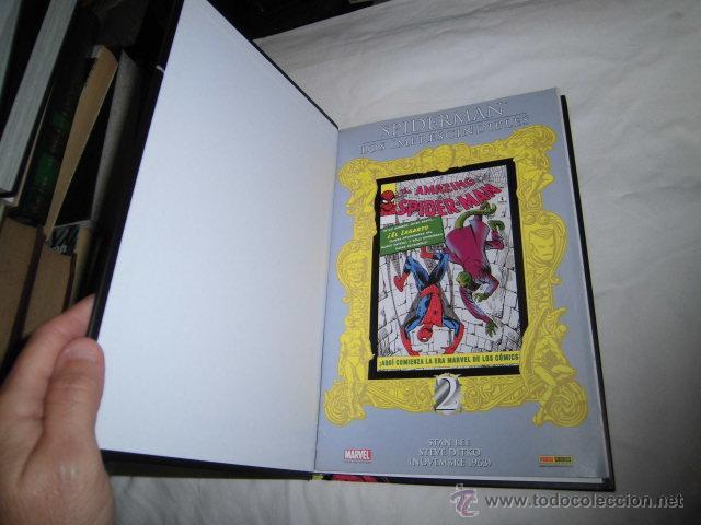 Cómics: SPIDERMAN LOS IMPRESCINDIBLES Nº 2.EL ATAQUE DEL LAGARTO CON EL LIBRETO TAPA DURA - Foto 2 - 45253786