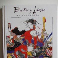 Cómics: ELEKTRA Y LOBEZNO-LA REDENTORA-MARVEL GRPHIC NOVELS-PANINI-TOMO TAPA DURA. Lote 45704490