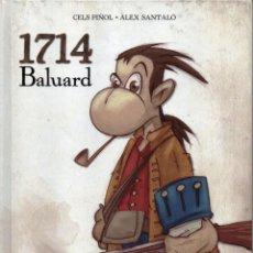 Cómics: 1714 BALUARD DE CELS PIÑOL Y ALEX SANTALO - PANINI COMICS (NUEVO). Lote 48928203
