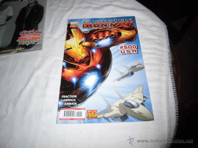 EL INVENCIBLE IRON MAN #500 USA.Nº 9.-LA NUEVA EDAD DE HIERRO.PANINI 2011 (Tebeos y Comics - Panini - Marvel Comic)