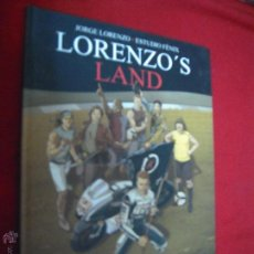 Cómics: LORENZO´S LAND - JORGE LORENZO & ESTUDIO FENIX - CARTONE. Lote 46536830