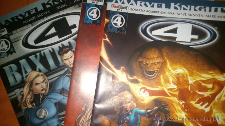 MARVEL KNIGHTS 4 NºS 1 2 3 4 Y 6 - ROBERTO AGUIRRE-SACASA STEVE MCNIVEN MUNIZ - LOS 4 FANTÁSTICOS - (Tebeos y Comics - Panini - Marvel Comic)
