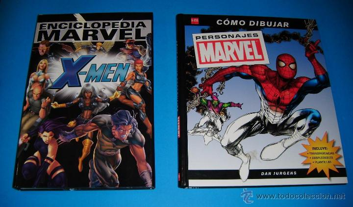 Enciclopedia Marvel X Men Y Como Dibujar Person Vendido En Venta