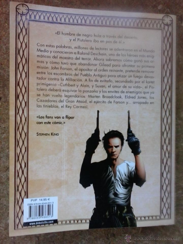 Cómics: La Torre Oscura. El nacimiento del pistolero (2008, 1ª edición) / Stephen King, Jae Lee.. DeBolsillo - Foto 7 - 47351439