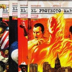 Cómics: EL PROYECTO MARVELS DE ED BRUBAKER, STEVE EPTING COLECCIÓN COMPLETA 4 Nº'S, 2010. Lote 123480704
