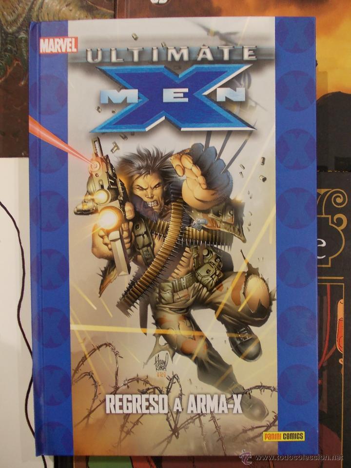 ULTIMATE-X MEN-REGRESO A ARMA-X-PANINI MARVEL-TAPA DURA-NUEVO (Tebeos y Comics - Panini - Marvel Comic)
