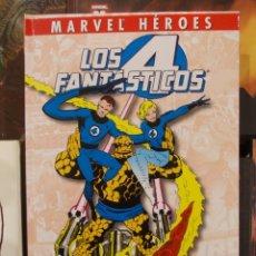 Cómics: MARVEL HEROES-LOS 4 FANTASTICOS-VUELTA A LOS ORIGENES-PANINI MARVEL-TAPA DURA-NUEVO. Lote 47610437