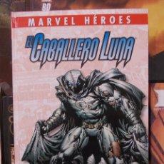 Cómics: MARVEL HEROES-EL CABALLERO LUNA-EL FONDO-PANINI MARVEL-TAPA DURA-NUEVO. Lote 57042865