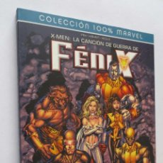Cómics: COLECCION 100 % MARVEL X MEN LA CANCION DE GUERRA DE FENIX PANINI COMICS. Lote 47766949