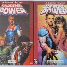 Cómics: MAX COMICS SUPREME POWER 1 Y 2 PANINI COMICS. Lote 47767079
