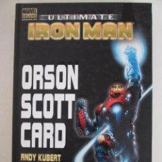 Cómics: ULTIMATE IRON MAN ORSON ECOTT CARD. Lote 147581452