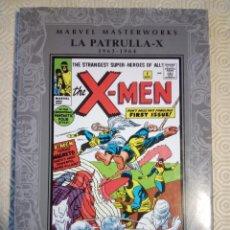 Cómics: MARVEL MASTERWORKS: LA PATRULLA X 1 (1964-1964) DE STAN LEE, JACK KIRBY. Lote 48411751