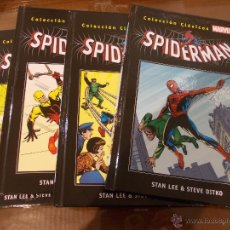 Cómics: COLECCION CLASICOS MARVEL-SPIDERMAN-1-2-3 Y 4-PERFECTO ESTADO-SALVAT-STAN LEE & STEVE DIKTO. Lote 48518531