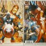 CIVIL WAR 1 Y 2 MARVEL PANINI 2007