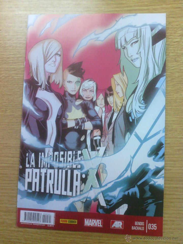 PATRULLA X VOL 4 #35 (IMPOSIBLE PATRULLA X) (Tebeos y Comics - Panini - Marvel Comic)