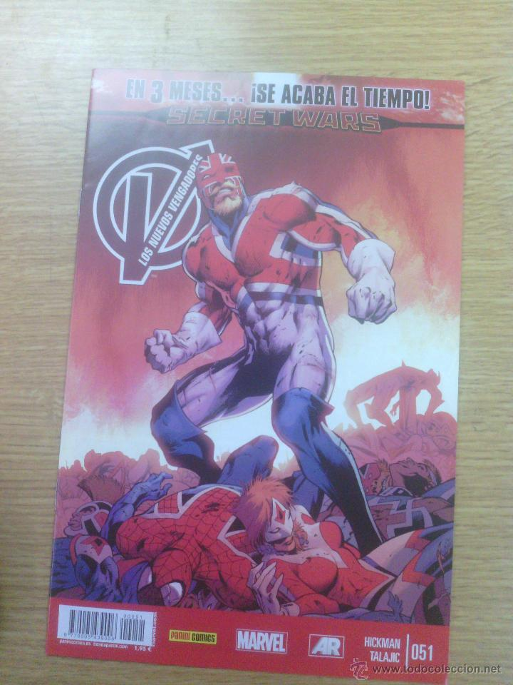 NUEVOS VENGADORES VOL 2 #51 (Tebeos y Comics - Panini - Marvel Comic)