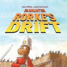 Cómics: FANHUNTER - RORKE'S DRIFT - TOMO PANINI - CELS PIÑOL Y ALEX SANTALÓ. Lote 49580066