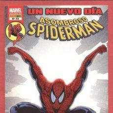 Cómics: ASOMBROSO SPIDERMAN-UN NUEVO DÍA--MARVEL-PANINI COMICS-Nº 23-SEP.2008-JIMENEZ -LANNONG- COX*. Lote 49629849
