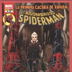 Cómics: ASOMBROSO SPIDERMAN-MARVEL-PANINI COMICS-Nº28-FEB 2009-SLOTT-PRIMERA CACERÍA DE KRAVEN*. Lote 49630036