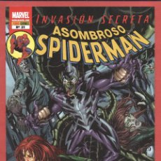 Cómics: ASOMBROSO SPIDERMAN-MARVEL-PANINI COMICS-Nº31-MAY 2009-INVASIÓN SECRETA*. Lote 49630332