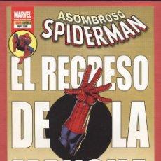 Cómics: ASOMBROSO SPIDERMAN-MARVEL-PANINI COMICS-Nº39-ENE 2010-EL REGRESO DE LA MANCHA*. Lote 49631050