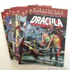 Cómics: DRACULA BIBLIOTECA GRANDES DEL COMIC. Lote 49792596