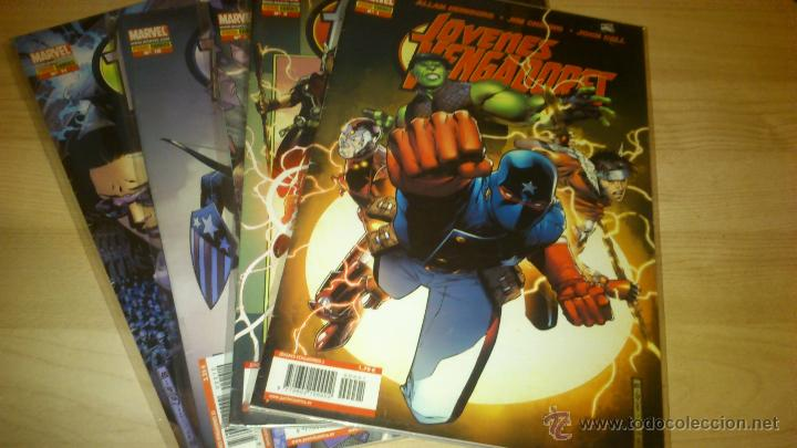 COMICS - JÓVENES VENGADORES COLECCIÓN COMPLETA - 12 NÚMEROS PANINI (Tebeos y Comics - Panini - Marvel Comic)